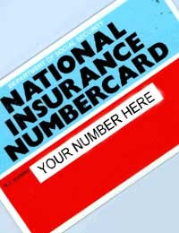 National Insurance Number Nic National